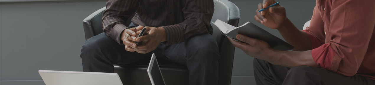 Close up of hands and tablets_image